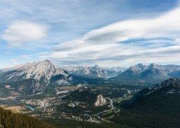 Banff aerial view